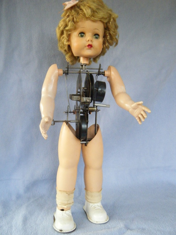 Battery Operated Ride On Toys >> Walking Winnie - Vintage Doll Repair